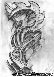 Рисунки татуировок и их значение
